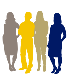 Icon of four people standing